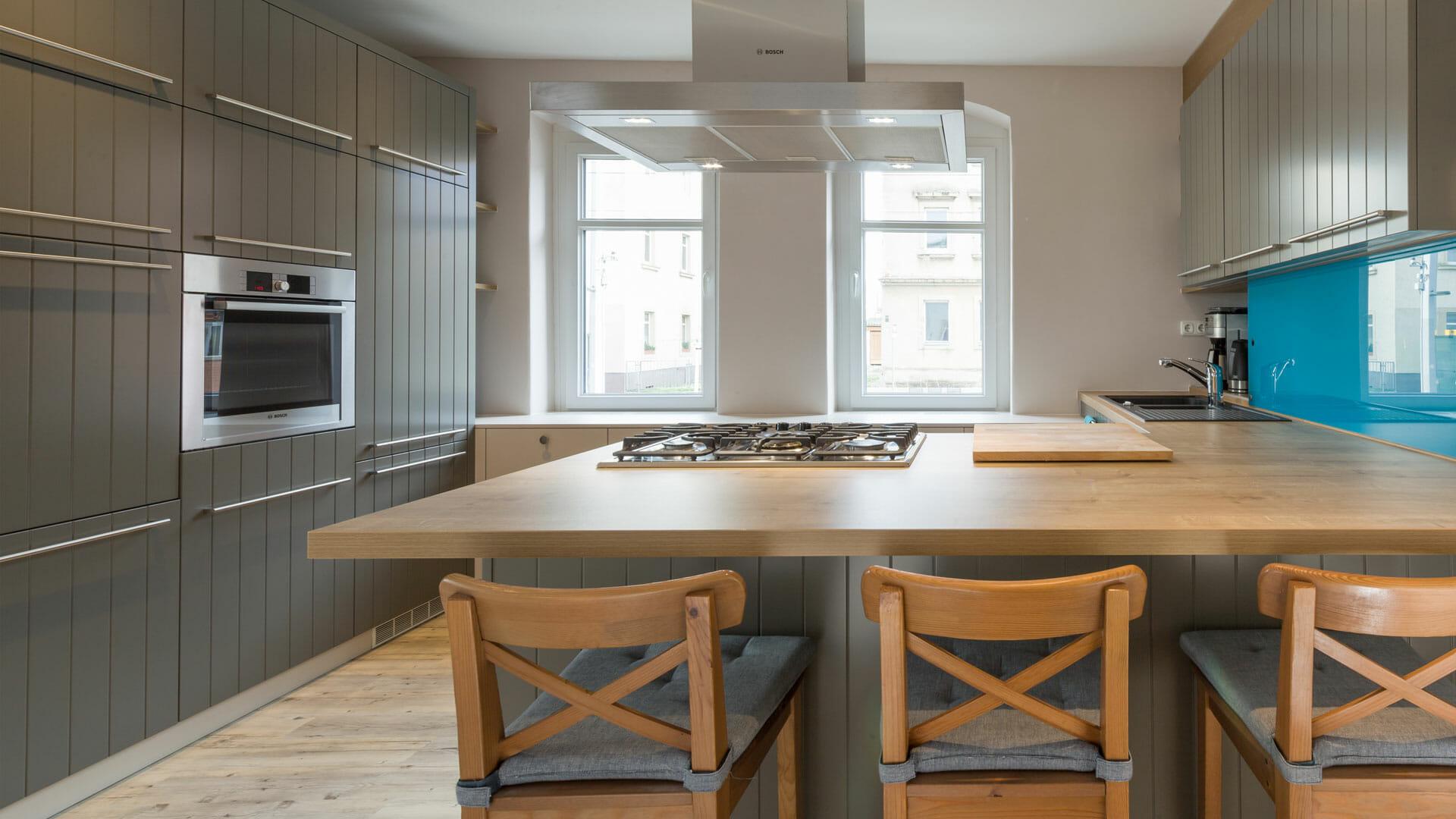 moderne Design Landhausküche | dieMeisterTischler