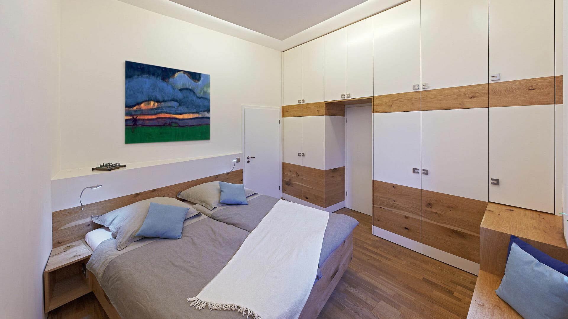modernes Massivholz Schlafzimmer | dieMeisterTischler