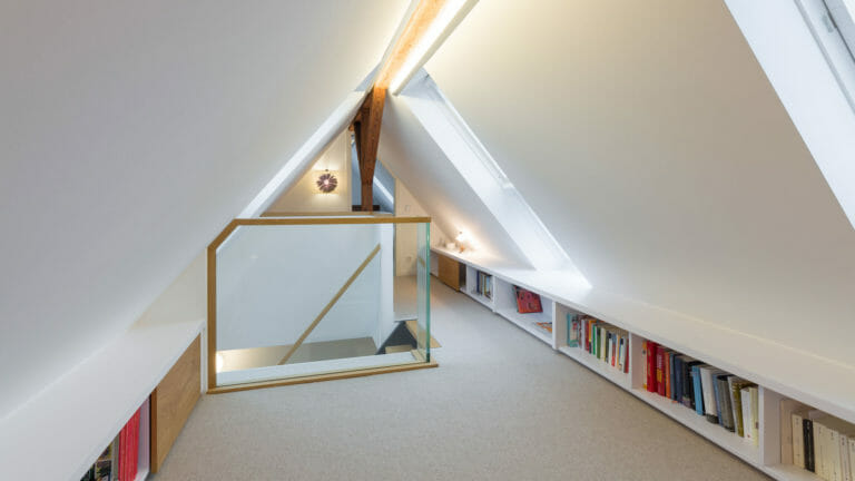 Innenausbau Dachboden