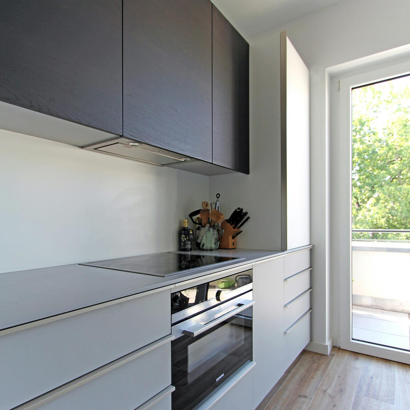 maßgefertigte, moderne Einbauküche